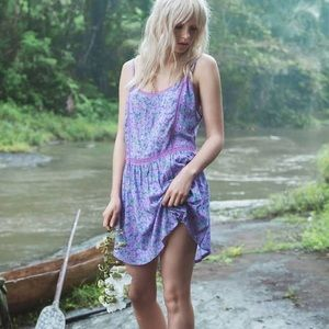Spell & The Gypsy Wildflower Mini Slip Dress